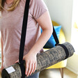 2 in 1 Yoga Belt and Sling with Model