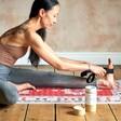 Model Using 2 in 1 Yoga Belt and Sling