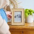 Lisa Angel Wooden Sass & Belle Open Weave Photo Frame