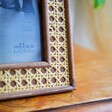 Vintage Style Sass & Belle Open Weave Photo Frame