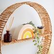 Lisa Angel Sass & Belle Rainbow Shaped Planter on Shelf