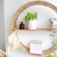 Unisex Sass & Belle Split Willow Round Shelf