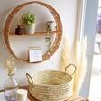 Sass & Belle Split Willow Circle Shelf