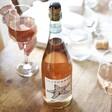 Lisa Angel Bottle of Sea Change Starfish Rosé Prosecco