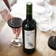Lisa Angel Bottle of Sea Change Whale Malbec Red Wine