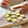 Pack of 10 Citronella Tealights