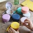 Lisa Angel Range of Colourful Personalised 18th Birthday Mini Round Travel Jewellery Cases