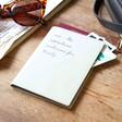 Personalised Message Iridescent Passport Holder in Grey