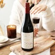 Personalised Confetti Label Bottle of Wine