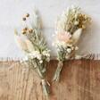 Lisa Angel Handmade Natural Dried Flower Buttonholes for Weddings
