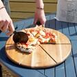 Strong Pizza Cutter & Serving Board Set