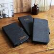 Lisa Angel Personalised Black Vegan Leather iPhone Cases