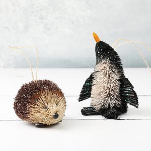 Bristle Hedgehog Decoration