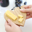 Lisa Angel Mini Wooden Heart Cheese Board
