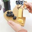 Lisa Angel Mini Wooden Heart Cheese Board and Knife Set