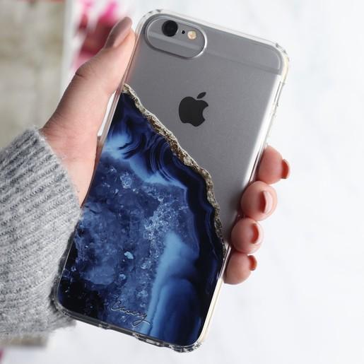 best website 5f890 36e47 Casery Blue Agate iPhone 8/7/6/6s Case