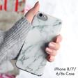 Lisa Angel Stylish Personalised Casery White Marble iPhone Case