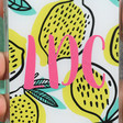 Lisa Angel Colourful Personalised Casery Main Squeeze iPhone Case