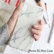 Lisa Angel Personalised Casery White Marble iPhone 8 Plus/7 Plus/6 Plus/6s Plus Case