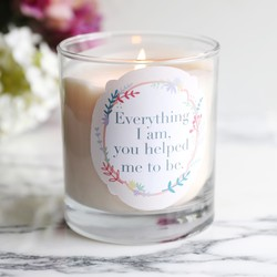 e171583f5e LSA Iridescent Glass Tealight Holder. £6 · Personalised Floral Wreath Quote  Scented Candle