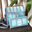 Lisa Angel with House of Disaster Boulevard Greenhouse Wallet and Mini Bag