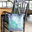 Lisa Angel with Botanical House of Disaster Boulevard Greenhouse Tote Bag