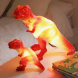 Kids Small House of Disaster Mini T-Rex LED Night Lights