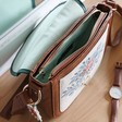 Inside of House of Disaster Secret Garden Fox Saddle Bag