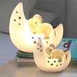 Lisa Angel House of Disaster Sleepy Elephant Lamps