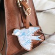 Lisa Angel Ladies' House of Disaster Secret Garden Bird Luggage Tag