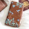 Lisa Angel Ladies' House of Disaster Secret Garden Bird Travel Wallet