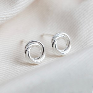 Sterling Silver Russian Ring Earrings