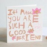 ARTHOUSE Unlimited 'It's Magic You're Such a Good Friend' Greeting Card