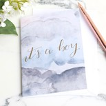 'It's a Boy' Greeting Card