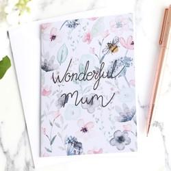 Wonderful Mum Greeting Card