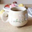 Lisa Angel Ladies' Iridescent Floral 'Nana' Mug