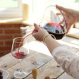 Lisa Angel Large 2 Litre Glass Wine Carafe with Oak Stopper