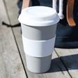 Lisa Angel Unisex Zuperzozial Cruising Travel Mug in Grey