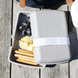 Lisa Angel Zuperzozial Lunchtime! Lunch Box in Grey
