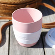 Ladies' Recycled Zuperzozial Mini Cruiser Travel Mug in Pink
