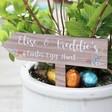 Lisa Angel Personalised Wooden Easter Egg Hunt Sign