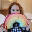 Lisa Angel with Jellycat Amuseable Rainbow Soft Toy