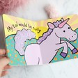 Lisa Angel with Children's Jellycat 'If I Were a Unicorn' Book