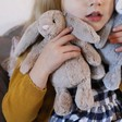 Lisa Angel with Children's Jellycat Small Bashful Beige Bunny Soft Toy
