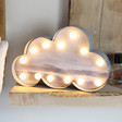 Lisa Angel Grey Watercolour LED Cloud Light