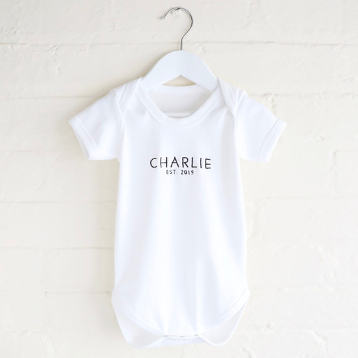 RUSSIAN TEACHER BODY SUIT PERSONALISED DADDYS LITTLE BABY GROW GIFT