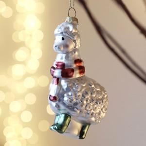 Llama Christmas Bauble