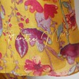 Lisa Angel Ladies' Yellow Personalised Watercolour Floral Scarf