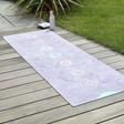 Lisa Angel Ladies' Chakra Luxurious Vegan Suede Yoga Mat
