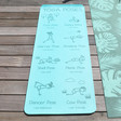 Children's 6mm Myga Jurassic Yoga Mat